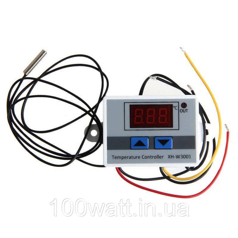 Терморегулятор цифровой для инкубаторов XH-W3001 220В 1500W ST 431