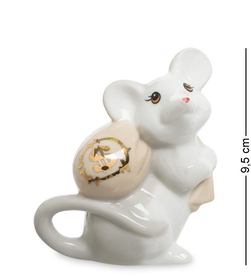 "Фигура ""Мышка"", 9х5х9.5 см., фарфор"