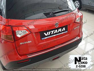 Защитная накладка на задний бампер Suzuki Vitara