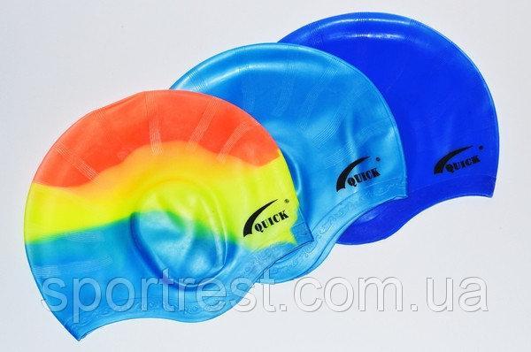 Шапочка для плавания с впадинами для ушей.Y-830 Шапочка для плавания с впадинами для ушей.