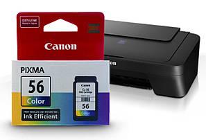 Картридж Canon Pixma E414 (цветной) оригинальный, струйный, 12.6ml (300 копий)