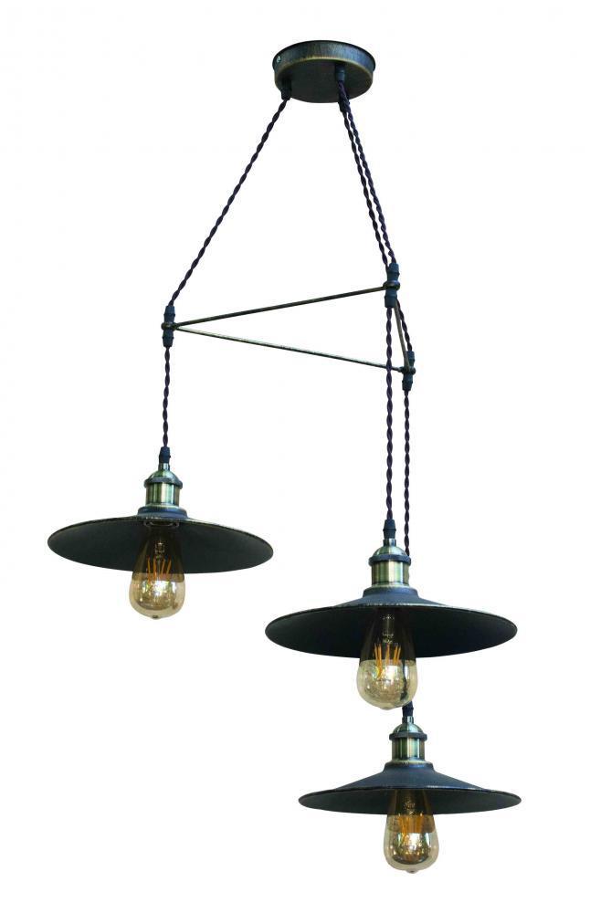 Светильник подвесной НББ 3*60ВТ, Е27, арт. 12130