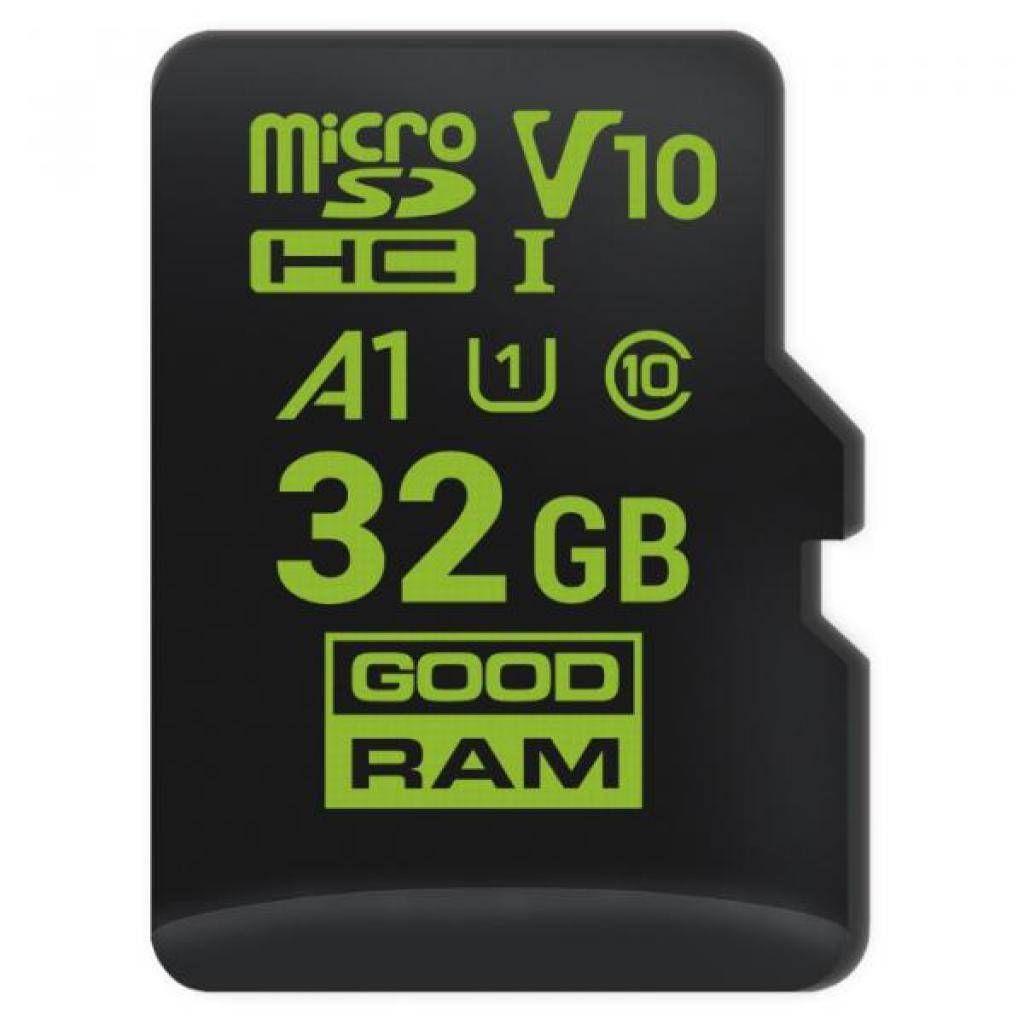 Карта памяти GooDRam microSDHC (UHS-1) 32Gb class 10 (M1A0-0320R11)