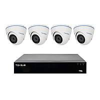 Комплект видеонаблюдения на 4 камеры Tecsar B4CH4AB-HD+cam