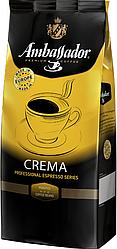 Кофе в зернах Ambassador Crema 1кг, Польша