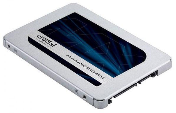 SSD Накопитель Crucial MX500 1 TB (CT1000MX500SSD1)