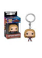 Фигурка - брелок Pocket pop keychain Captain Marvel - Captain Marvel (Women) 3.6 см