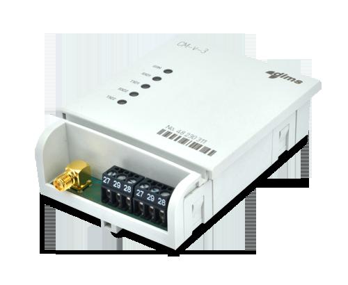 Радиомодуль CM-v-3 для электросчетчиков Iskra МТ880-M с RS485/GSM/GPRS