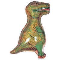 Фольгированный шар  Динозавр 79см х 45см Зеленый