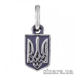 Серебряная подвеска Тризуб 31517