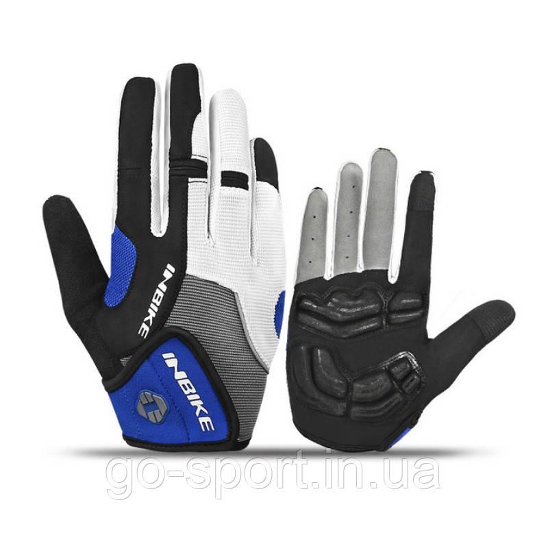Велоперчатки Inbike синие