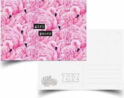"Открытка ZIZ Открытка ""Фламинго"" (39023) SKU_39023"