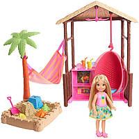 Барби Челси Тики Хат Barbie Chelsea Tiki Hut