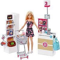Барби в супермаркете Оригинал Barbie Supermarket Set, Blonde (FRP01)