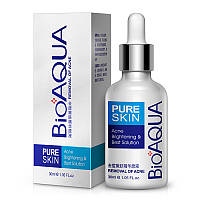 Сыворотка от акне Bioaqua Pure Skin Acne Brightening & Best Solution (30мл)