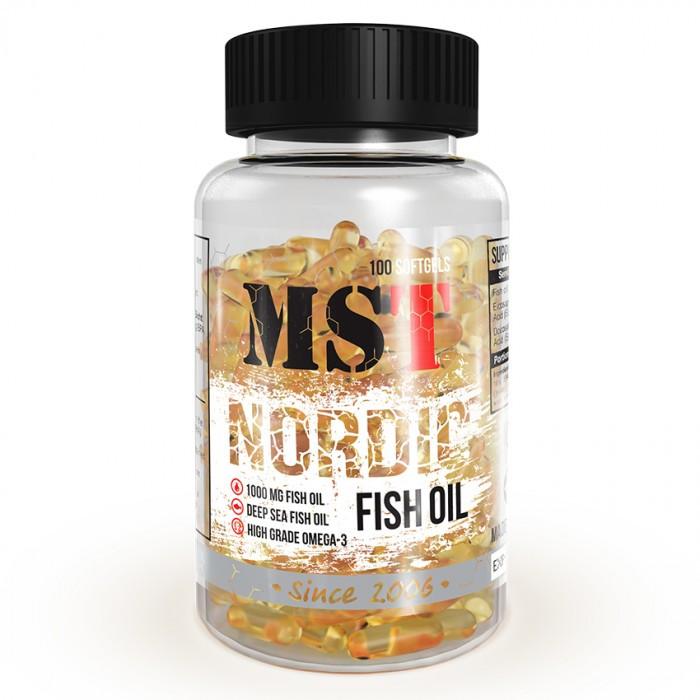 Nordic Fish Oil (90 softgels) жирные кислоты MST