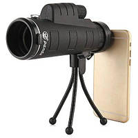 Монокуляр с зажимом для телефона Тренога Чехол Panda 35x50