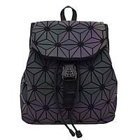 Рюкзак женский Bao Bao Звезды голографический (черный)
