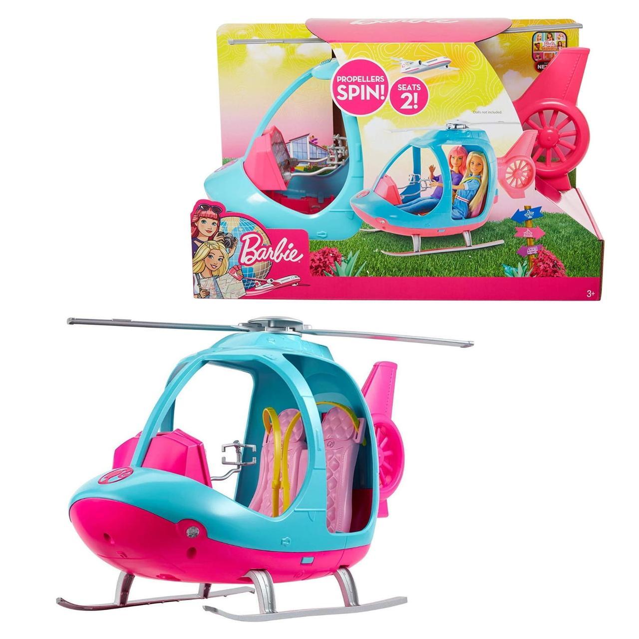 Туристический вертолет куклы Барби Barbie Travel Helicopter