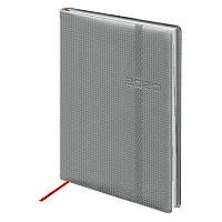 Ежедневник датированный в линию Brunnen 2020 Стандарт Soft Carbon, 336 страниц, А5 мягкая обложка серый