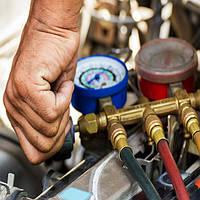 Заправка автомобильного холодильного оборудования, кондиционеров