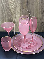 """Набор бокалов 4 шт для белого вина """"Персия"""", 500 мл, 9BGA001C-P"""