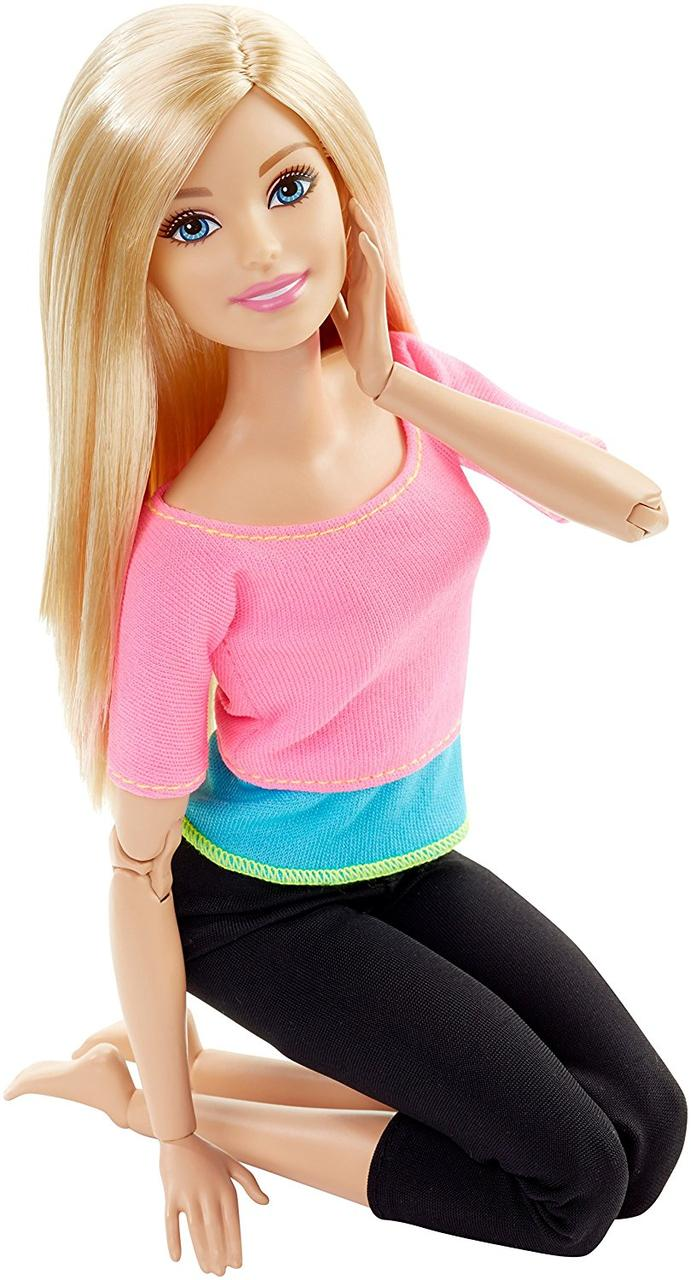 Лялька Барбі йога блондинка шарнірна Barbie Made to Move