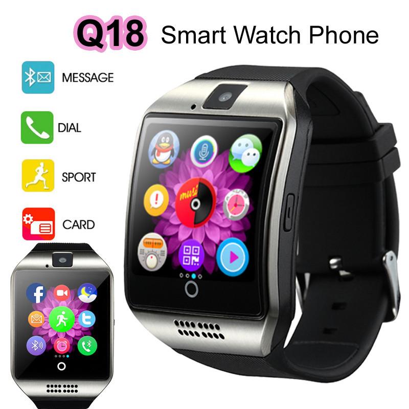 Умные смарт часы Q18  Smart Watch