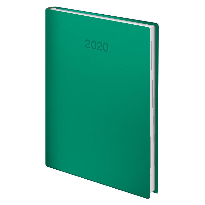 Ежедневник датированный Brunnen 2020 Стандарт Flex зелёный