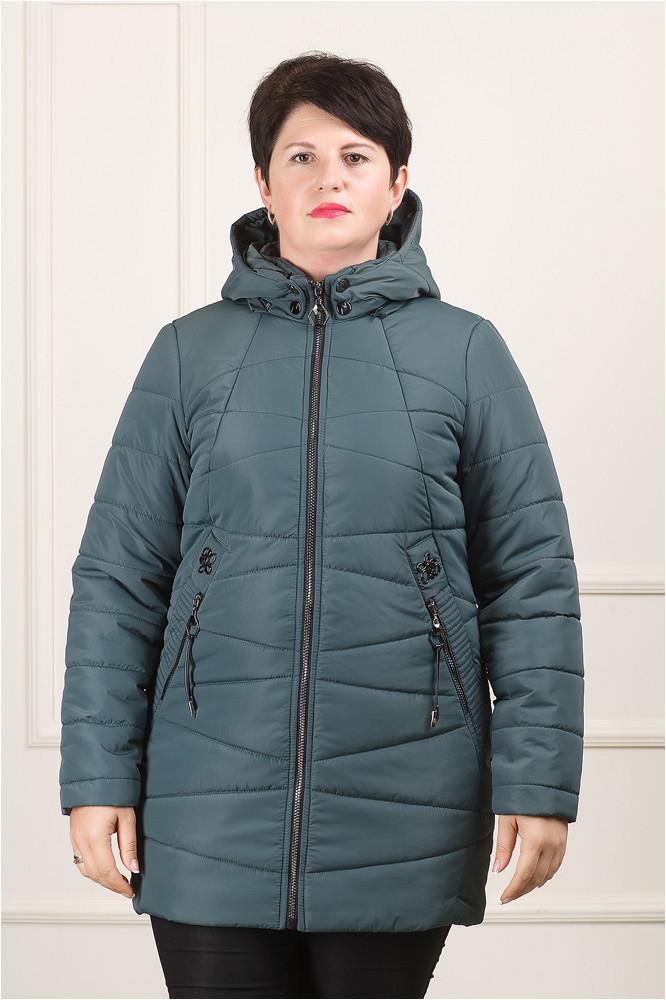 Куртка демисезонная  бледно-синий  Нина