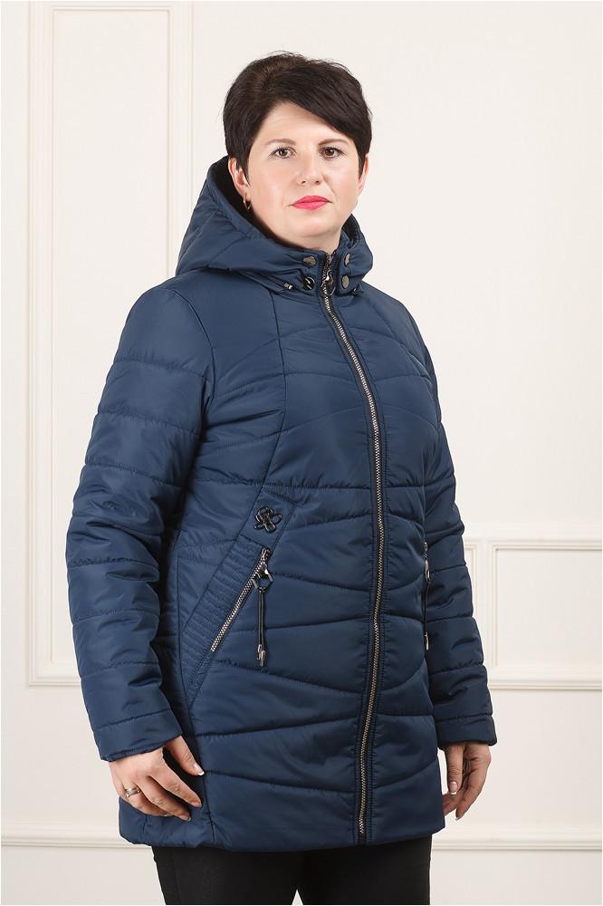 Куртка демисезонная синий  Нина