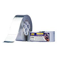 ALU/ARM - Сверхпрочная алюминиевая клейкая лента (скотч) HPX с армированной сеткой - 50мм x 50м