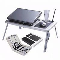 Столик E-TABLE подставка для ноутбука с охлаждением, фото 1