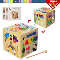 Деревянная игрушка Бизиборд MD 2135