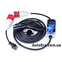 Зарядное устройство для электромобиля Smart Electric Drive AutoEco J1772-32A-Wi-Fi, фото 1