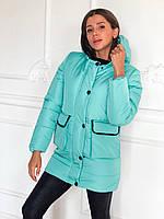 """Куртка женская зимняя на силиконе, размеры S-L (2цв) """"MARGARET"""" купить недорого от прямого поставщика"""