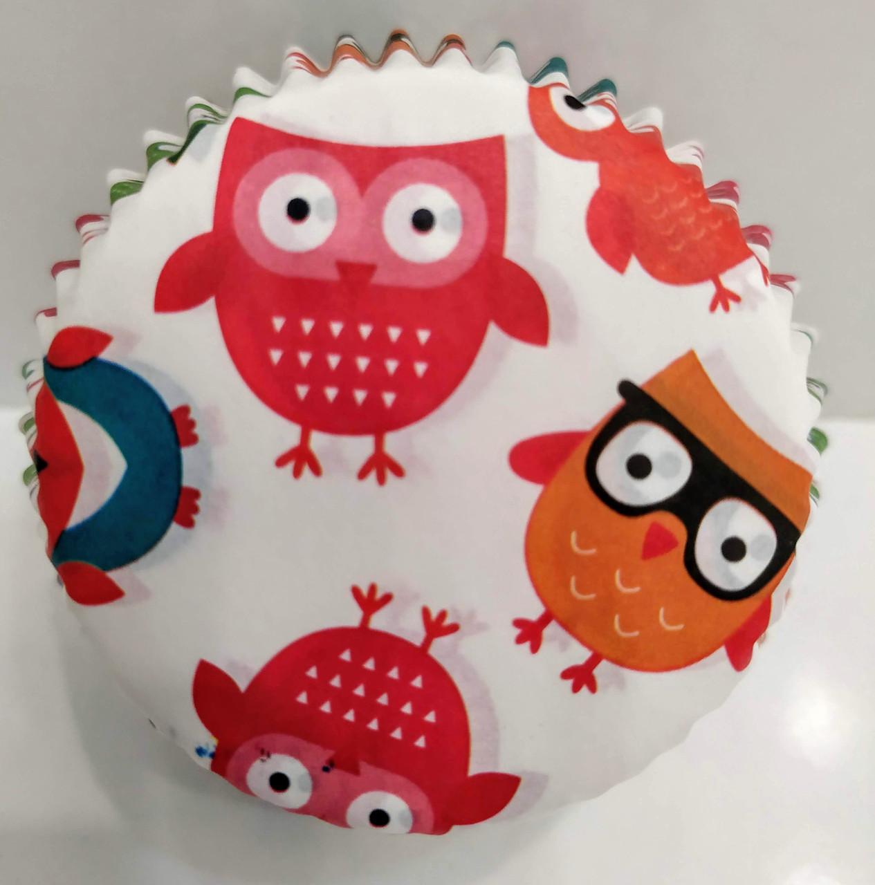 Форма бумажная для кексов Совята тарталетка 1000 шт.