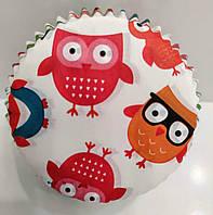 Форма бумажная для кексов Совята тарталетка 1000 шт., фото 1