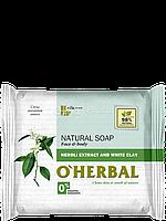 Натуральное мыло с экстрактом нероли и белой глиной 100 г O'Herbal