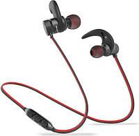 Беспроводные наушники AWEI Беспроводные Bluetooth наушники Awei AK9 с магнитным включением (Красный) SKU_525