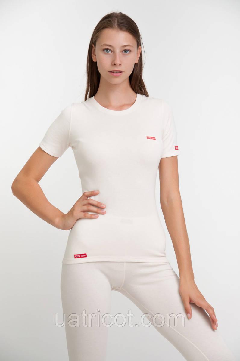 Термофутболка женская ФЖ-529 Vortex Activ Comfort ( молочный)