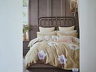 Постельное белье полисатин двуспальный евро ELWAY EW061