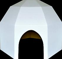 Картонный домик Podarex Картонный домик - Юрта SKU_313758453