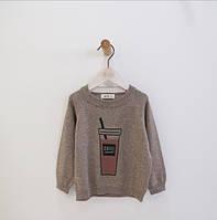 Детский свитер коттон