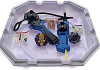 Волчок smart Бейблейд набор с ареной Волчек XENO XCALIBUR.M.I B-48 Beyblade Экскалибур B-48 + B-14 Wyvern Armed Massive с пусковым устройством
