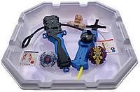 Волчок smart Бейблейд набор с ареной Волчек XENO XCALIBUR.M.I B-48 Beyblade Экскалибур B-48 + B-20 Horusood Spread Edge с пусковым устройством