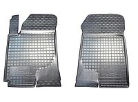 Полиуретановые передние коврики для Kia Cerato I (LD) 2003-2010 (AVTO-GUMM)