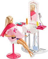 Игровой набор Барби салон красоты Barbie Salon & Doll