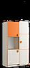 Шкаф книжный 3Д
