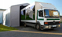 Шатер 5х10 метров ПВХ 600г/м2 под склад, гараж, ангар, намет, павильон, складское помещение, фото 7